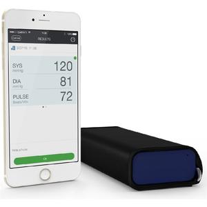 Drahtloser Blutdruckmonitor QA-A100 Arm - dunkelblau/schwarz