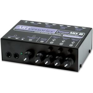PowerMIX III, 3-Kanal Stereo