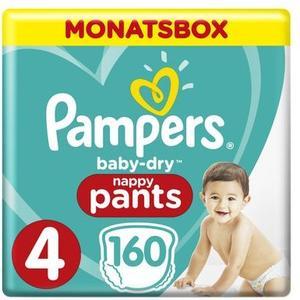 Baby Dry Pants Gr.4 Maxi 9-15kg MonatsBox 160Stk.