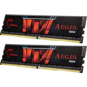 Aegis, DDR4, 16GB (2 x 8GB), 3000MHz - schwarz/rot