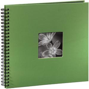 "Spiralalbum ""Fine Art"" 36X32/50 - grün"