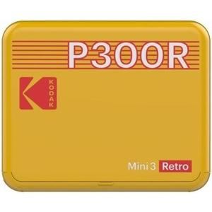 Mini 3 Square Retro gelb Printer