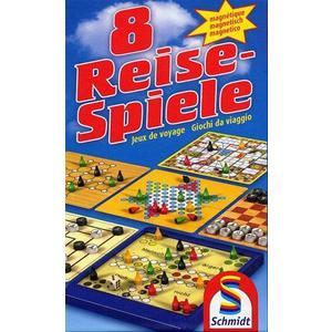 8 Reise-Spiele - Magnetisch (D/F/I)