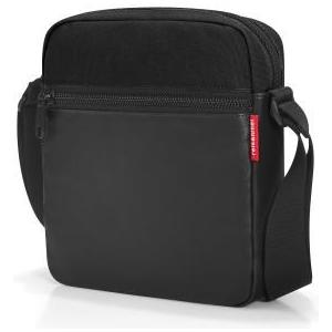 Schultertasche crossbag canvas black, 5l