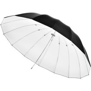 Reflexschirm 150cm - schwarz/weiß