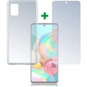 360° Protection Set Limited Cover für Samsung Galaxy A71 - transparent