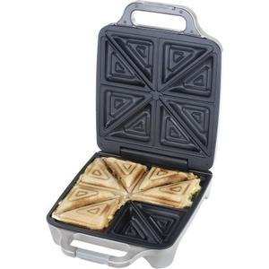 Sandwichmaker 6269 4er XXL - Silber