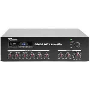 PBA60 100V Verstärker 60W, USB/MP3/BT