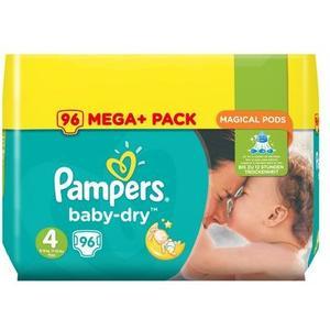 Baby Dry Mega Plus Pack Gr. 4 Maxi, 96 Stk.