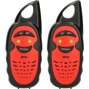 Walkie Talkie FR-05RD rot/schwarz, Kinder, 3km, 4h Batterie, 3 Sender, Cl