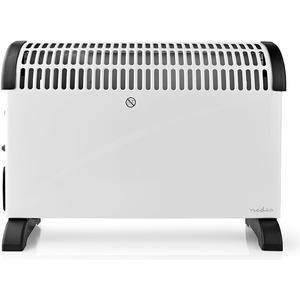 Konvektionsheizgerät | Thermostat | Lüfterfunktion | Timer-Funktion | 3 Stufen | 2000 W | Weiß