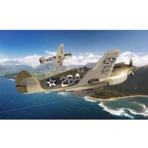 Curtiss P-40B Warhawk 1:72