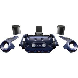 HTC Vive Pro Full Kit, VR Headset VR-Brille inkl. Basisstation & Controller