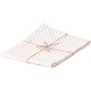 Küchentuch, rosa gepunktet Baumwolle, 50 x 70cm