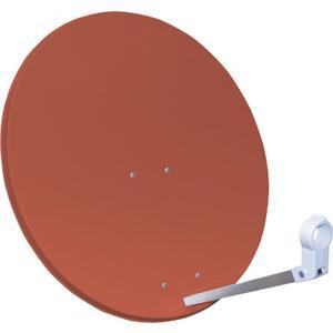 Sat-Spiegel 80cm - Ziegelrot