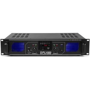 SPL 1000MP3 2-Kanal Endstufe 2x 500W, schwarz