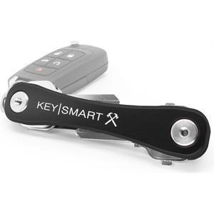 Rugged Schlüsselhalter mit Clip & Flaschenöffner - schwarz