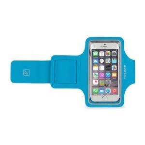 """Sporty Sportarmband für iPhone 6/6S/7 (4.7"""") oder Smartphones bis 5? - Blau"""