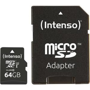 Micro SD Card 64GB UHS-I Professional inkl. SD Adapter