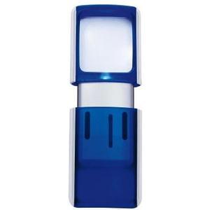 Rechtecklupen mit LED Beleuchtung blau