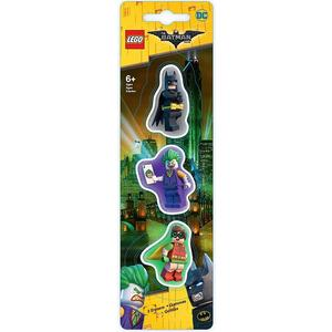 Radiergummi Batman Movie, 3-er Pack