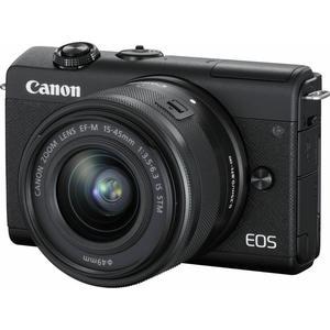 EOS M200 Kit (15-45mm) - schwarz - Import