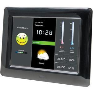 DigiFrame 800 Weather - schwarz