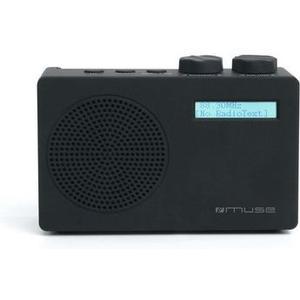 M-100 DB, schwarz Portable DAB+ und UKW- Radio