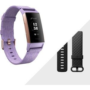Charge 3 SE - rosegold - (NFC, lavendelfarbendes Armband)