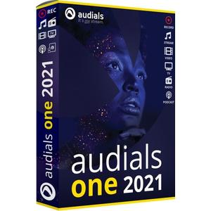 Audials One 2021 (Code in a Box) (DE)