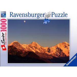 Eiger,Mönch und Jungfrau - Puzzle [1000 Teile]
