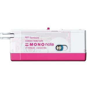 Korrekturroller ´MONO note´, 2,5 mm x 4 m, pink
