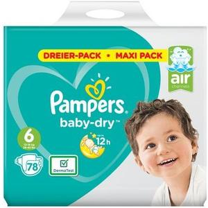 Baby Dry Gr.6 Extra Large 13-18kg Maxi-Pack