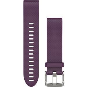QuickFit Silikonarmband 20mm für Fenix 5S - violett