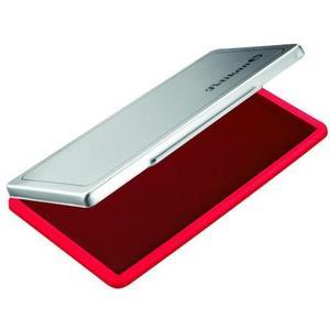 Stempelkissen Metallic Gehäuse, rot