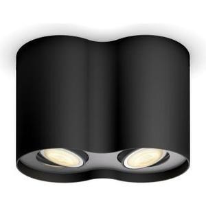 Hue 2er Spot Pillar BK DLC 2x5.5W, 2x350lm, 2200-6500K, Dimmer Sw, BT