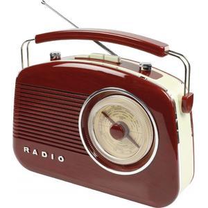 Tragbares UKW-Radio FM/AM - braun