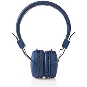 Funkkopfhörer   Bluetooth®   On-Ear   Faltbar   Integriertes Mikrofon   Blau