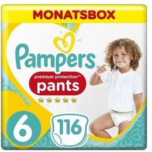 Premium Protection Pants Gr.6 ExLa 15+kg MonatsBox 116Stk.
