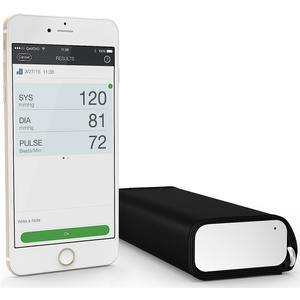 Drahtloser Blutdruckmonitor QA-A100 Arm - weiss/schwarz