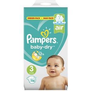 Baby Dry Gr. 3 Midi 6-10kg Maxi-Pack