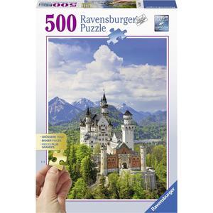 Märchenhaftes Schloss - Puzzle [500 Teile]