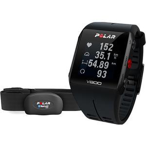 V800 GPS-Sportuhr inkl. Pulsgurt - schwarz