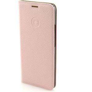 Book-Cover Echtleder für Huawei Mate 20 Pro - pink