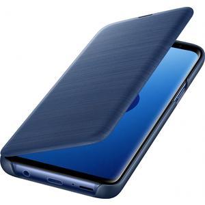 Led View Cover für Galaxy S9 - blau