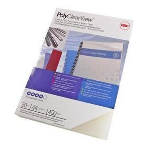 Einbanddeckel Polyclearview, 300my PVC, glasklar, 100Stk.