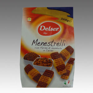 Delser Menestrelli con Farina di mandorle e cacao
