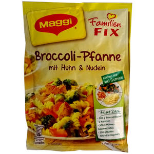 Maggi FIX Broccoli-Pfanne, 3 Stück á 40 g