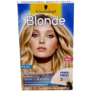 Schwarzkopf Blonde F1 Feder Blond Aufhellung um bis zu 6 Stufen