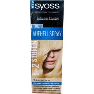 Syoss Blond Aufhellspray H3  1-2 Stufen Aufhellung 125 ml